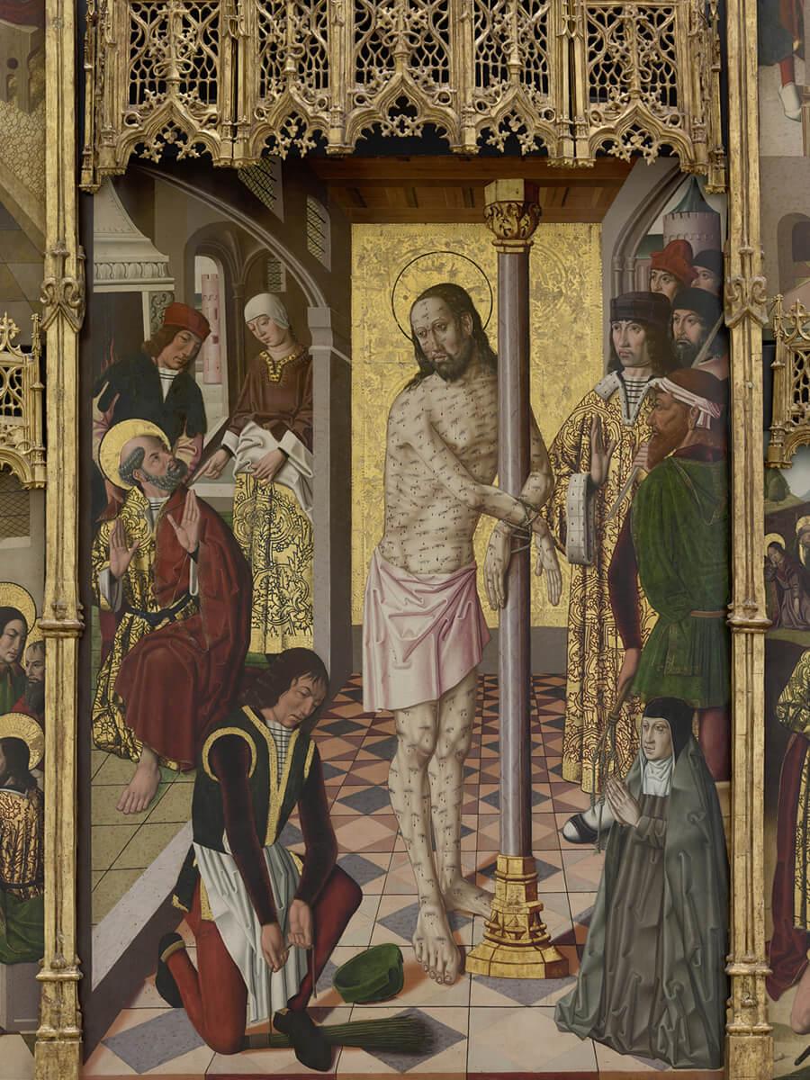 Retablo de la Flagelación de Leonor deVelasco