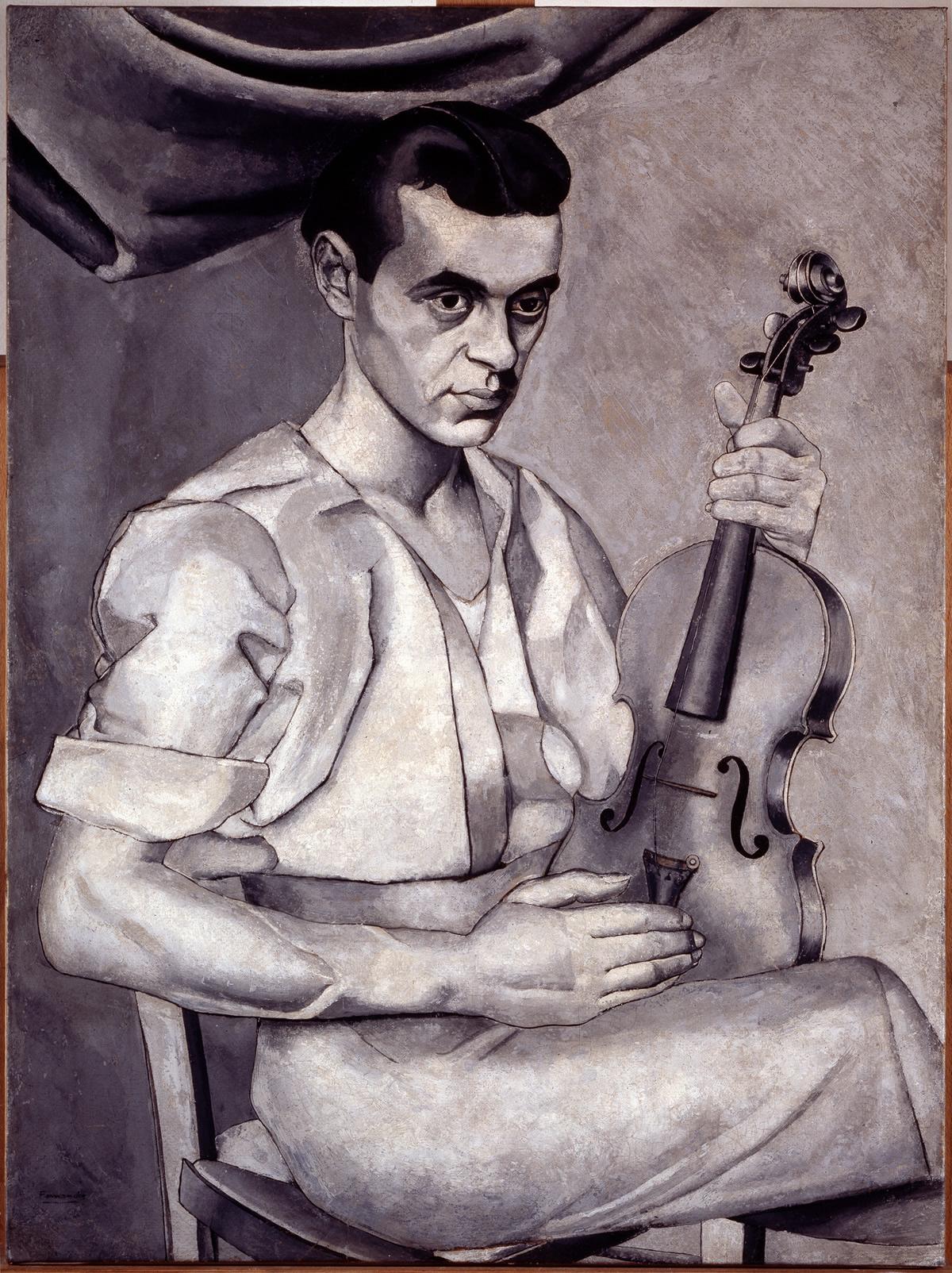 Luis Fernández. Portrait (Retrato), c. 1934-1935. Museo Nacional Centro de Arte Reina Sofía, Madrid.