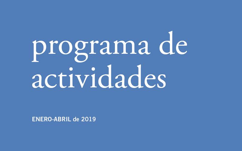 Nueva programación del Bellas Artes (Enero-Abril 2019)