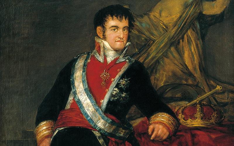 "Francisco de Goya a través del ""Fernando VII"" del Museo de Arte de Santander (MAS): una acrópolis interpretativa, a cargo de Salvador Carretero."