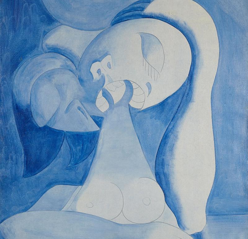 La Fundación María Cristina Masaveu Peterson deposita en el Museo de Bellas artes de Asturias una obra de Luis Fernández perteneciente a su periodo surrealista-picassiano