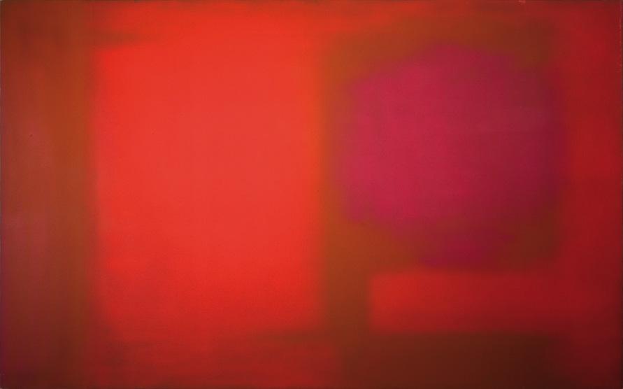 Esteban Vicente. Untitled, 1972. Óleo sobre lienzo. 114,5 x 183 cm. Museo de Arte Contemporáneo Esteban Vicente, Segovia