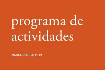 Nueva programación del Bellas Artes (Mayo-Agosto 2019)