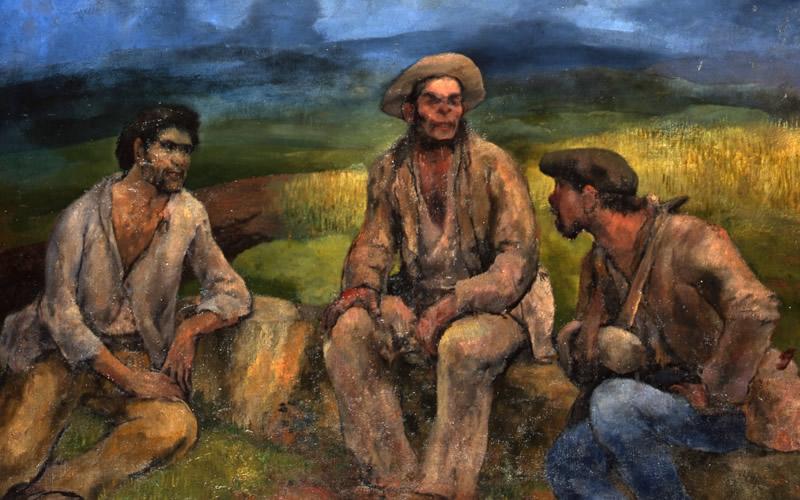 Evaristo Valle: vanguardia y compromiso a través de la colección del Museo de Bellas Artes de Asturias