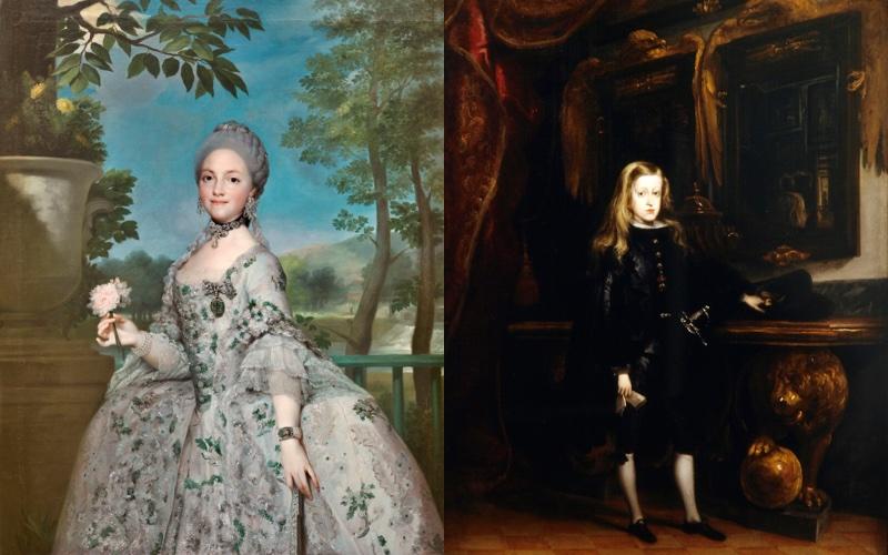 Inauguración de la exposición Austrias y Borbones: Príncipes y Princesas de Asturias, y Reyes de España