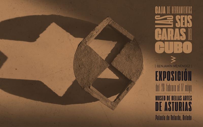 Inauguración de la exposición Caja de herramientas. Las seis caras del cubo. Benjamín Menéndez