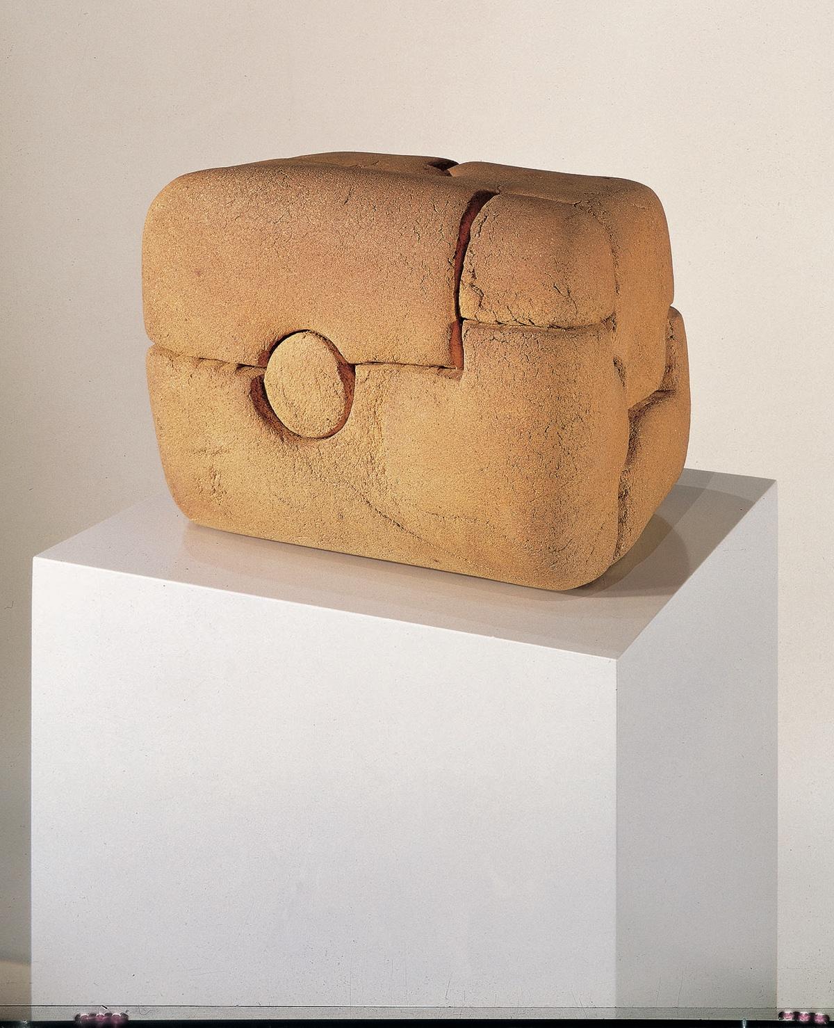 (Chillida) Lurra nº 67 (1985). Eduardo Chillida. Colección Telefónica.