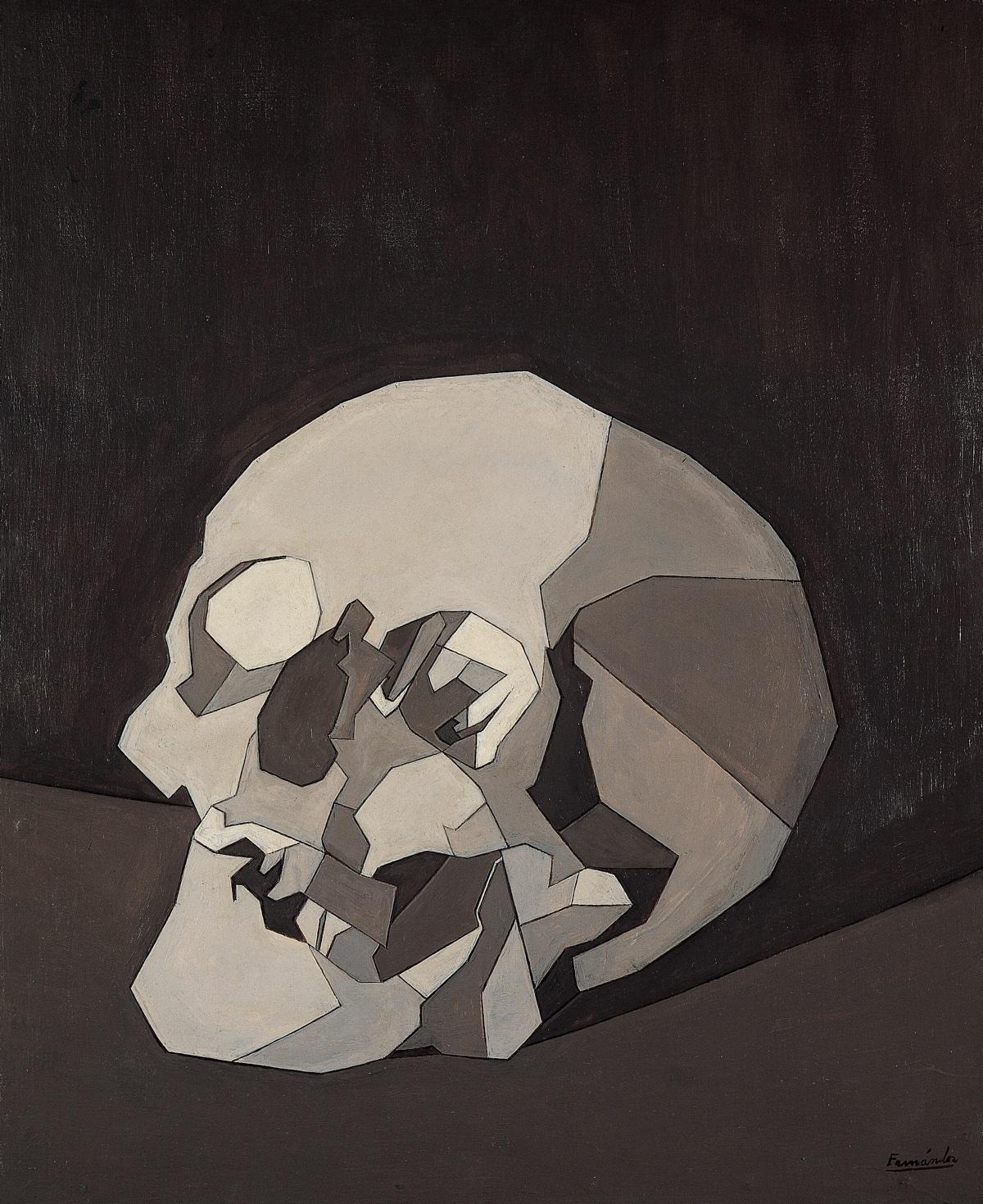 (Luis Fernández) Crâne (1958). Luis Fernández. Colección Telefónica.