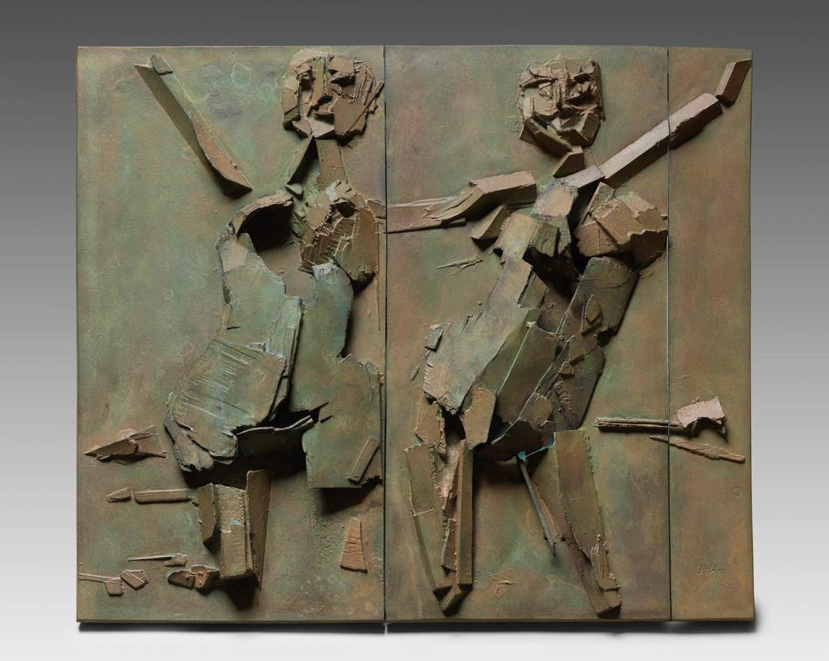 La escultura de orlando pelayo