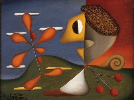 Aurelio_Suarez,_Amador_de_flores,_1952