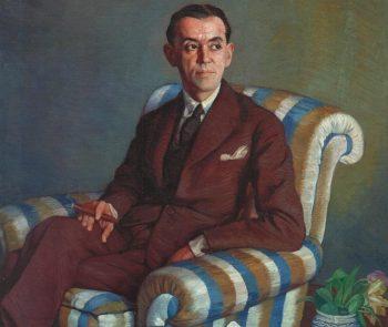 RETRATO DE D. RAMÓN PÉREZ DE AYALA, DE IGNACIO ZULOAGA