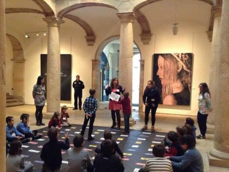 Un taller inclusivo en el Bellas Artes.